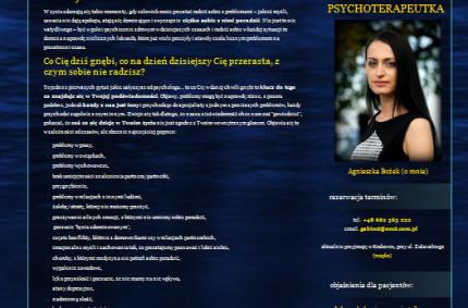 Psychoterapia psychodynamiczna – Agnieszka Bożek, Kraków [wywiad]