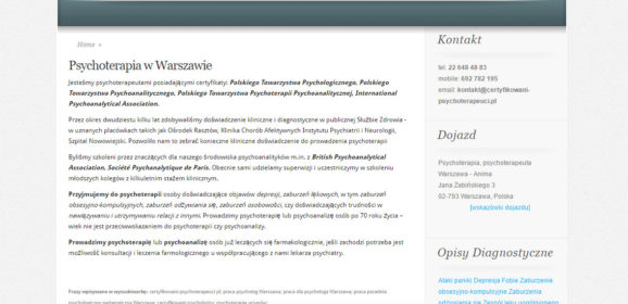 Certyfikowani Psychoterapeuci