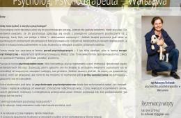 Psychoterapia psychodynamiczna – Katarzyna Stefaniak, Warszawa [wywiad]