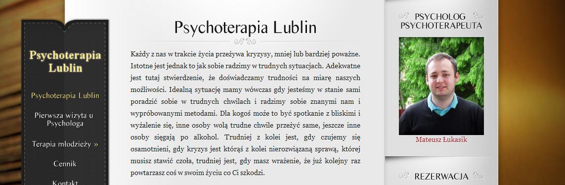 Psychoterapia psychodynamiczna – Mateusz Łukasik, Lublin [wywiad]